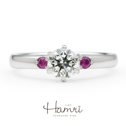 【Hamri(ハムリ)】可愛い手作り婚約指輪