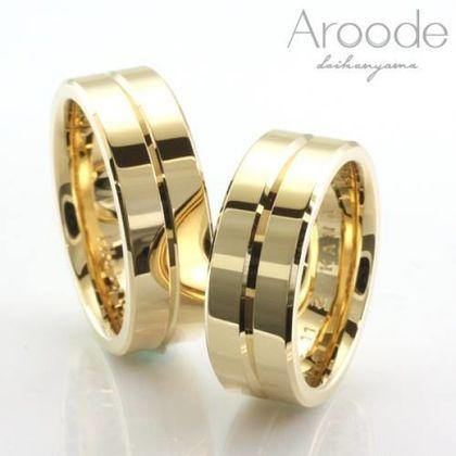 【Aroode(アローデ)】フルオーダーメイドマリッジリング  No53