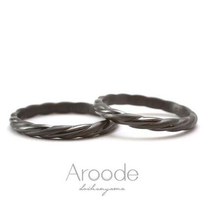 【Aroode(アローデ)】フルオーダーメイドマリッジリング  No56