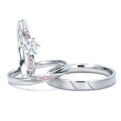 【アネリディギンザ(ANELLI DI GINZA)】Honey Darling/ALL OF ME オールオブミー/婚約指輪&結婚指輪【アネリディギンザ/ANELLI DI GINZA】
