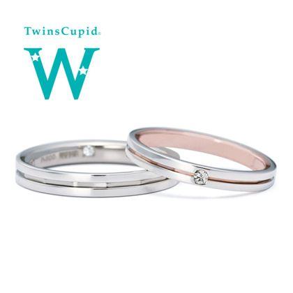 【アネリディギンザ(ANELLI DI GINZA)】TwinsCupid/Love Arrow ラブアロー/結婚指輪【アネリディギンザ/ANELLI DI GINZA】