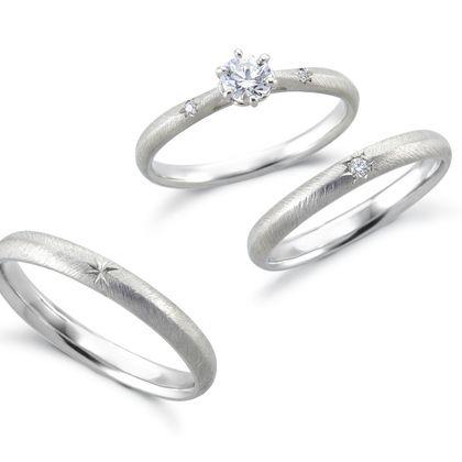 【アネリディギンザ(ANELLI DI GINZA)】いい夫婦ciel étoilé/étoile エトワール/婚約指輪&結婚指輪【アネリディギンザ/ANELLI DI GINZA】