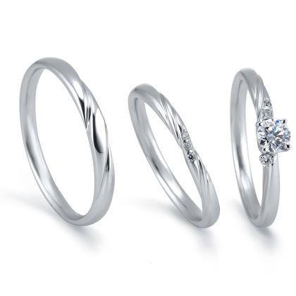 【アネリディギンザ(ANELLI DI GINZA)】Marions-nous!(マリヨンヌ) by いい夫婦ブライダル/ruisseau リュイソー/婚約指輪&結婚指輪【アネリディギンザ/ANELLI DI GINZA】