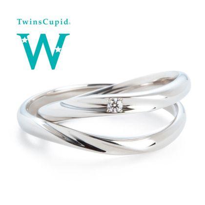 【アネリディギンザ(ANELLI DI GINZA)】TwinsCupid/Happy Wave ハッピーウェーブ/結婚指輪【アネリディギンザ/ANELLI DI GINZA】