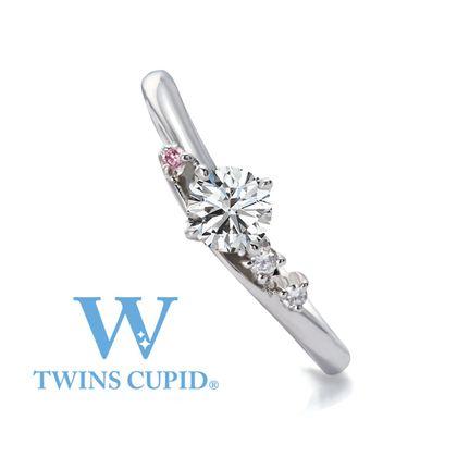 【アネリディギンザ(ANELLI DI GINZA)】TwinsCupid/Bouquet Toss ブーケトス/婚約指輪【アネリディギンザ/ANELLI DI GINZA】