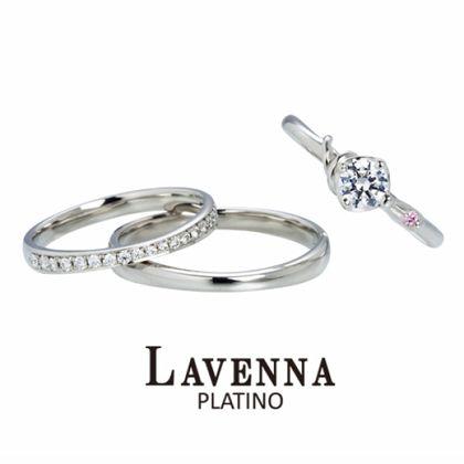 【アネリディギンザ(ANELLI DI GINZA)】LAVENNA PLATINO/ムーンリバー/婚約指輪&結婚指輪【アネリディギンザ/ANELLI DI GINZA】