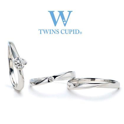 【アネリディギンザ(ANELLI DI GINZA)】TwinsCupid/Love Knot ラブノット/婚約指輪&結婚指輪【アネリディギンザ/ANELLI DI GINZA】