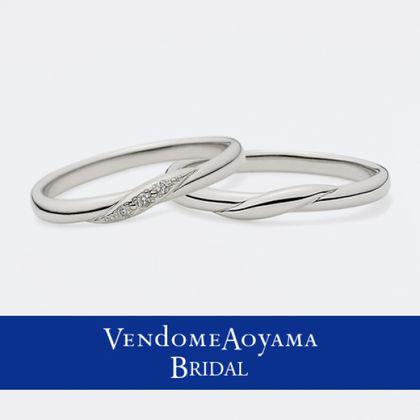 【ヴァンドーム青山(Vendome Aoyama)】【ヴァンドーム青山】フレーヴ マリッジリング AMPR0095-SD/0095-SA