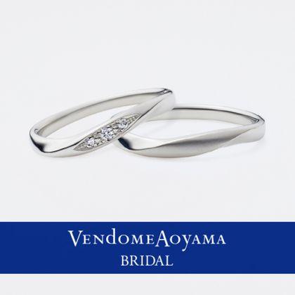 【ヴァンドーム青山(Vendome Aoyama)】【ヴァンドーム青山】フレーヴ マリッジリング AMPR0022-SD/0022-HM
