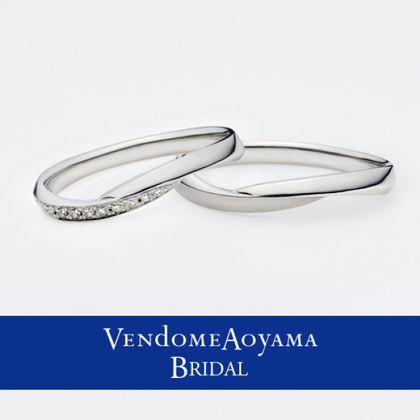 【ヴァンドーム青山(Vendome Aoyama)】【ヴァンドー青山】フレーヴ マリッジリング AMPR0094-SD/0094-HM