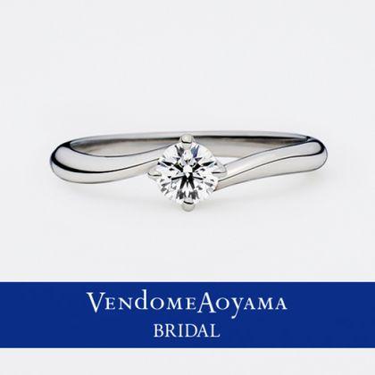 【ヴァンドーム青山(Vendome Aoyama)】【ヴァンドーム青山】フレーヴ エンゲージメントリング AE9066