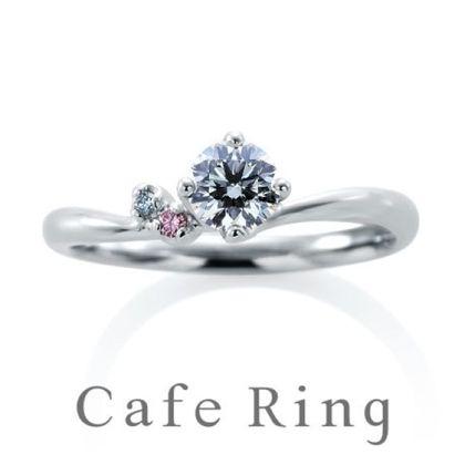 【山城時計店(やましろとけいてん)】【ローブドゥマリエ デュー】大人可愛いピンクダイヤモンドの婚約指輪