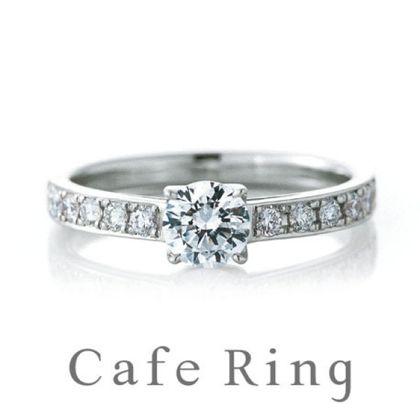 【山城時計店(やましろとけいてん)】【 シャロン】花嫁憧れのエレガントな婚約指輪