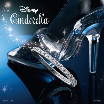 【ディズニー ブライダルコレクション】Disneyシンデレラ Time of Destiny ~タイム・オブ・ディスティニー~【結婚指輪】