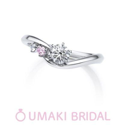 【EYE JEWELRY UMAKI(アイジュエリー ウマキ)】OK4《ピンクダイヤモンド》
