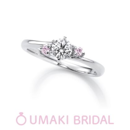 【EYE JEWELRY UMAKI(アイジュエリー ウマキ)】G2《ピンクダイヤモンド》