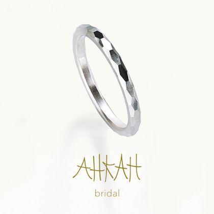 【AHKAH(アーカー)】オネスティミラーカットリング