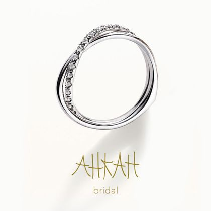 【AHKAH(アーカー)】トゥーオブアスリング(ダイヤ)
