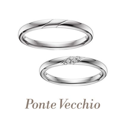 【Ponte Vecchio(ポンテヴェキオ)】【ブライダル専門店限定】BEL SEGRETO(ベルセグレート)~ふたりの秘密~