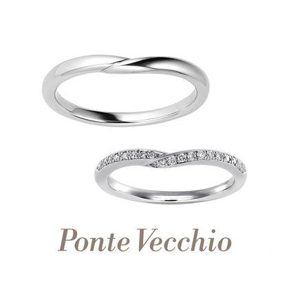 【Ponte Vecchio(ポンテヴェキオ)】【ブライダル専門店限定】PROMESSA(プロメッサ)~約束~
