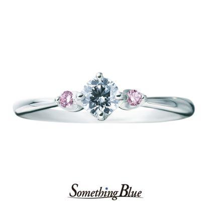 【Something Blue(サムシングブルー)】サムシングブルー エンゲージリング[SHE007]