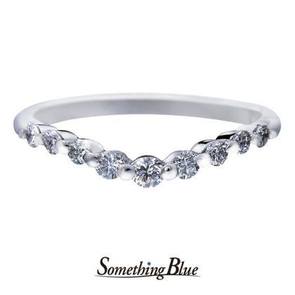 【Something Blue(サムシングブルー)】サムシングブルー エタニティリング [SBM-109]