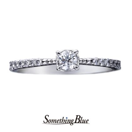 【Something Blue(サムシングブルー)】サムシングブルー エンゲージリング[SHE015]