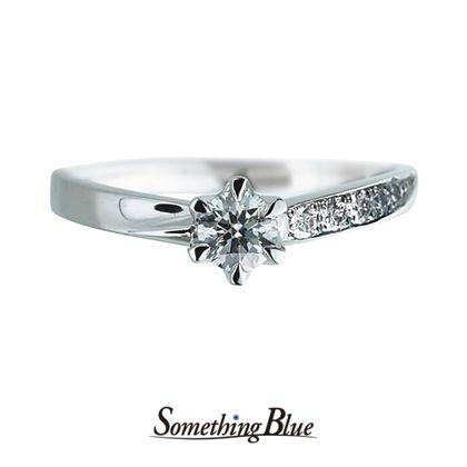 【Something Blue(サムシングブルー)】Wrap Heart[ラップハート] SBE004