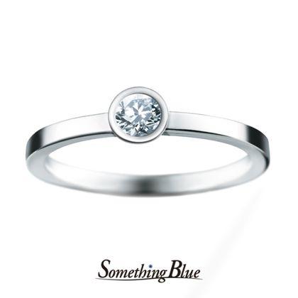 【Something Blue(サムシングブルー)】サムシングブルー エンゲージリング[SHE014]