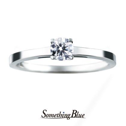 【Something Blue(サムシングブルー)】サムシングブルー エンゲージリング[SHE002]