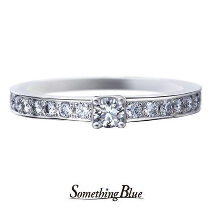 【Something Blue(サムシングブルー)】サムシングブルー マリッジリング [SBM-110]