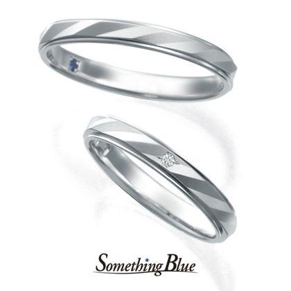 【Something Blue(サムシングブルー)】サムシングブルー マリッジリング [SP-782,SP-783]