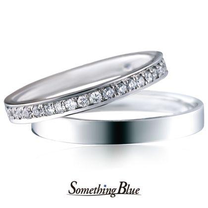 【Something Blue(サムシングブルー)】サムシングブルー マリッジリング [SBM-100,SBM-101]