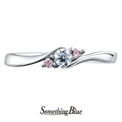 【Something Blue(サムシングブルー)】サムシングブルー エンゲージリング[SBE023]