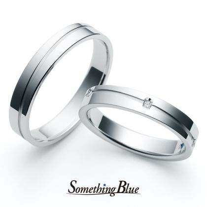 【Something Blue(サムシングブルー)】サムシングブルー マリッジリング [SP-809,SP-804]