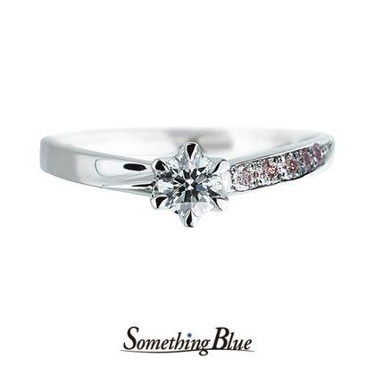 【Something Blue(サムシングブルー)】Wrap Heart[ラップハート] SBE008