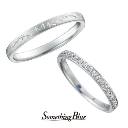 【Something Blue(サムシングブルー)】サムシングブルー マリッジリング [SB-830,SB-831]