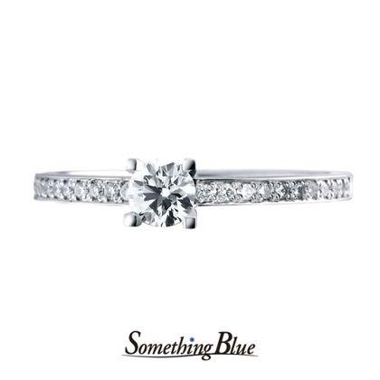 【Something Blue(サムシングブルー)】サムシングブルー エンゲージリング[SHE010]