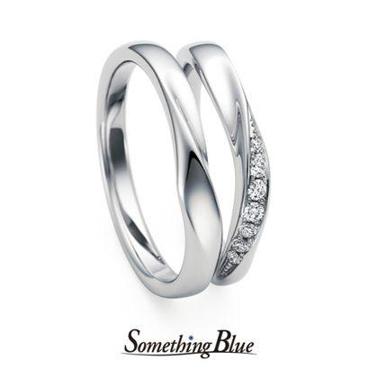 【Something Blue(サムシングブルー)】Wrap Heart[ラップハート]