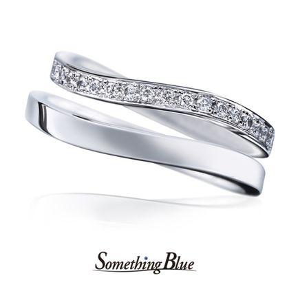 【Something Blue(サムシングブルー)】サムシングブルー マリッジリング [SBM-103,SBM-115]