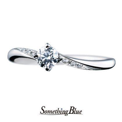 【Something Blue(サムシングブルー)】サムシングブルー エンゲージリング[SBE012]