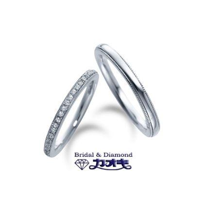 【カオキ ダイヤモンド専門卸直営店】人気の細身のエタニティー【イベリス】~甘い思い出~