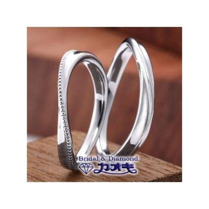 【カオキ ダイヤモンド専門卸直営店】流れるウエーブが魅力的【シオン】~どこまでもついていく~