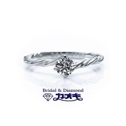 【カオキ ダイヤモンド専門卸直営店】☆カジュアルにもつけれるのがイイ☆kaoki kagayaki 005