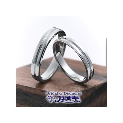 【カオキ ダイヤモンド専門卸直営店】シンプルなライン使いとカスタマイズの幅広さ【ファーストリバー】