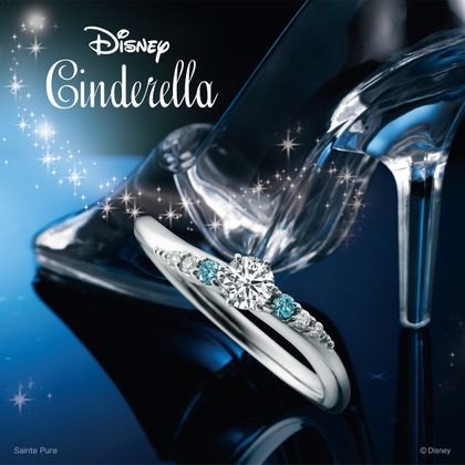 【Disney Cinderella(ディズニー シンデレラ)】Disney シンデレラ Crystal of magic ~クリスタル オブ マジック~【婚約指輪】