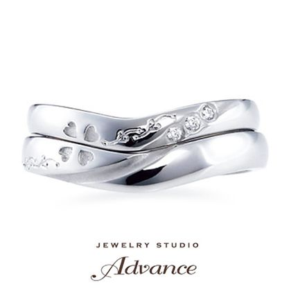 【JEWELRY STUDIO Advance(ジュエリースタジオアドバンス)】【Advance】Bride Clover(ブライドクローバー)『幸せの四葉』