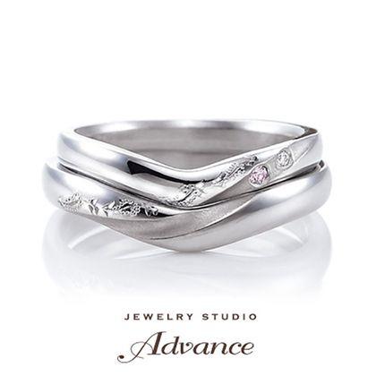 【JEWELRY STUDIO Advance(ジュエリースタジオアドバンス)】【Advance】Lupine(ルピナス)『彫模様に想いを込めて』
