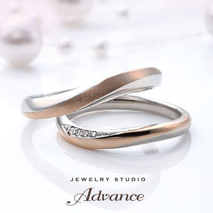 【JEWELRY STUDIO Advance(ジュエリースタジオアドバンス)】【Advance】Rose Wood (ローズウッド)『ふたりを繋ぐ赤い糸』