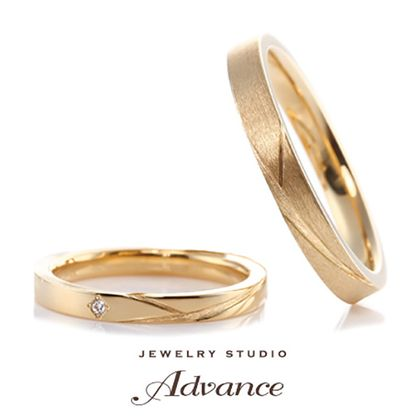 【JEWELRY STUDIO Advance(ジュエリースタジオアドバンス)】【Advnce】Shining stars(シャイニングスター)『流星モチーフ』